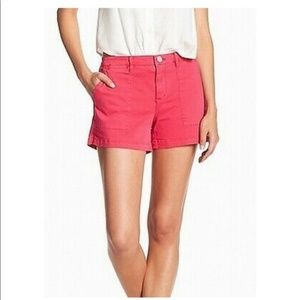 Anthropologie Sanctuary Magenta Mid Rise Shorts